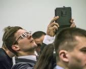 Publick için U Ab'de koyarak Forum — Stok fotoğraf