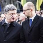 ������, ������: Petro Poroshenko and Arseniy Yatsenyuk