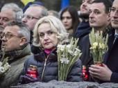 Ukrainian nationalist Irina Fahrion — Stock Photo