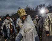 Prayer for Ukraine — Stock Photo