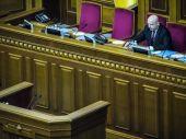 Openingszitting van de Verkhovna Rada — Stockfoto