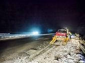Evacuação do caminhão quebrado — Fotografia Stock