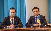 Pavlo Klimkin and Peter Siyyarto — Stock Photo