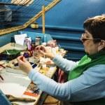 Klavdievskaya Factory of Christmas Ornaments — Stock Photo #60718275