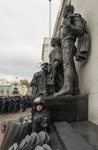 Financial Maidan protest in Kyiv — Stock Photo