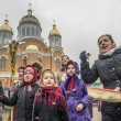 Celebration of Epiphany in Kiev — Stockfoto #62716125