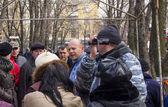 Pro russian protest in Lugansk — Stock Photo