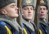 Commemoration ceremony of Kruty Heroes — Stock Photo