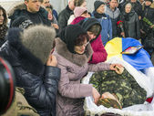 Aidar Battalion farewell ceremony — Foto Stock