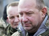 Sergei Melnychuk,    battalion Aidar commander — Stock Photo