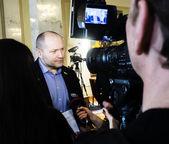 Deputy Borislav Bereza — Stock Photo
