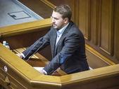 Deputy Andrei Lozovoi — Stock Photo