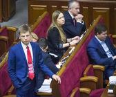 Deputy Alexey Goncharenko — Stock Photo
