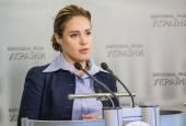 Deputy Natalia Korlevskaya — Stock Photo