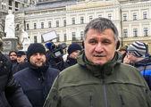 Ukrainian Interior Minister Arsen Avakov — Stock Photo