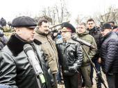 Oleksandr Turchynov opened documentary exhibition — Stock Photo