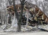 Vida cotidiana de Donetsk, Ucrania — Foto de Stock