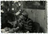 Antique german photo — Stock Photo