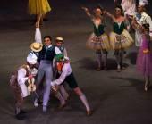 维也纳华尔兹芭蕾舞 — 图库照片