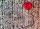 赤いハート — ストック写真