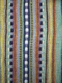 Traditional pattern on the fabric — Stock Photo