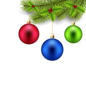 Kerstdecoratie. — Stockvector
