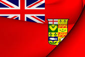 Canadian Red Ensign (1868-1921) — Stock Photo