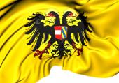 Holy Roman Empire Flag (1493-1556) — Stock Photo