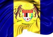 Flag of Putrajaya, Malaysia.  — Stock Photo