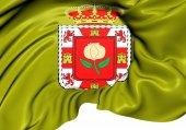 Flag of Granada Province, Spain.  — Stock Photo
