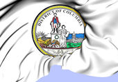 State Seal of Washington, D.C. — Stock Photo