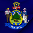 Flag of Maine, USA. — Stock Photo #52797267