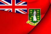 Civil Ensign of British Virgin Islands — Stock Photo