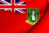 Civil Ensign of British Virgin Islands — Stock Photo