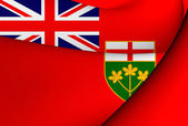 Flag of Ontario, Canada.  — Foto Stock