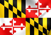 Vlag van maryland, usa. — Stockfoto