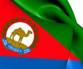 Presidential Standard of Eritrea — Stockfoto