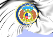 Senate of Missouri Seal, USA.  — Stock Photo