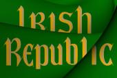 Irish Republic Flag — Stock Photo