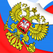Flag of Russia — Stock Photo #54240737