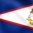 Flag of American Samoa — Stock Photo #54240409