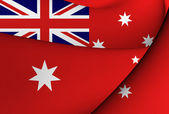 Civil Ensign of Australia — Stock Photo