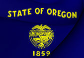 Vlag van oregon, usa. — Stockfoto
