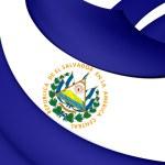 Flag of El Salvador — Stock Photo #55590395