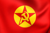 Flag of Revolutionary People's Liberation Party-Front — Stock Photo