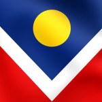 Flag of Denver, USA. — Stock Photo #57682021