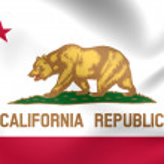 Flag of California, USA. — Stock Photo #58310545
