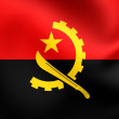 Flag of Angola — Stock Photo #58798777