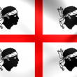 Flag of Sardinia, Italy. — Stock Photo #60610747