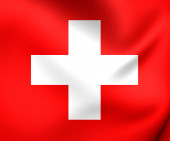 Flag of Switzerland — Stock Photo